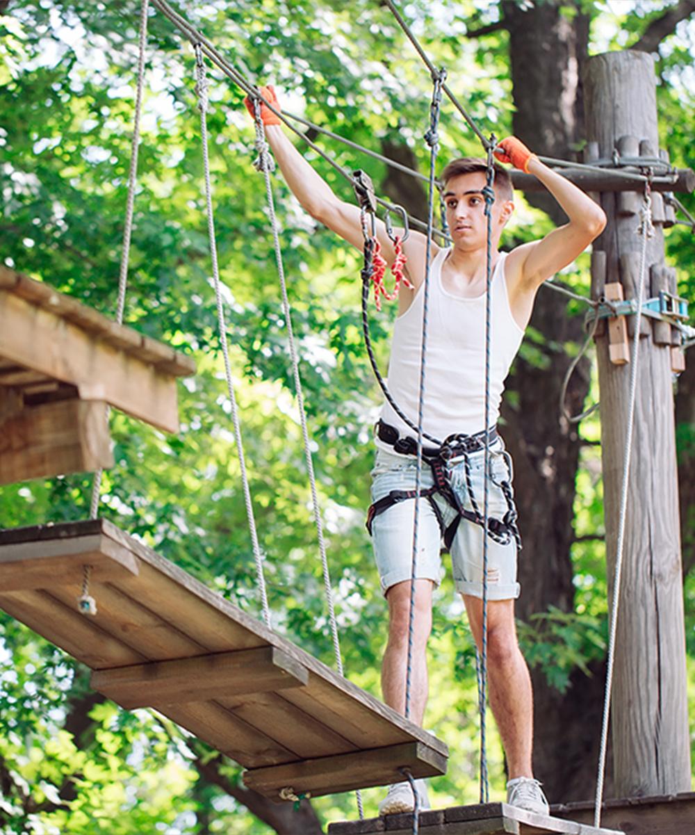 Park linowy - Zabawa dla dorosłych i dzieci